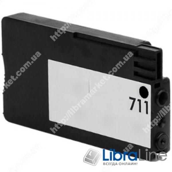 CZ129A, HP 711, Струйный картридж HP, 38 мл, Черный