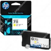 CZ132A, HP 711, Струйный картридж HP, 29 мл, Желтый