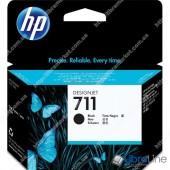 CZ133A, HP 711, Струйный картридж HP, 80 мл, Черный