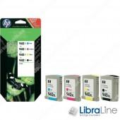 Оригинальные струйные картриджи HP увеличенной емкости, Черный / Голубой / Пурпурный / Желтый 4шт/уп C2N93AE, HP 940XL