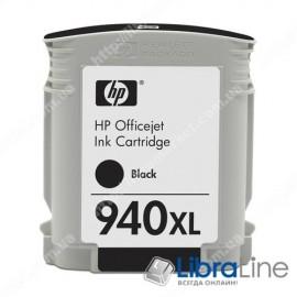 C4906AE, HP 940XL, Оригинальный струйный картридж HP увеличенной емкости, Черный