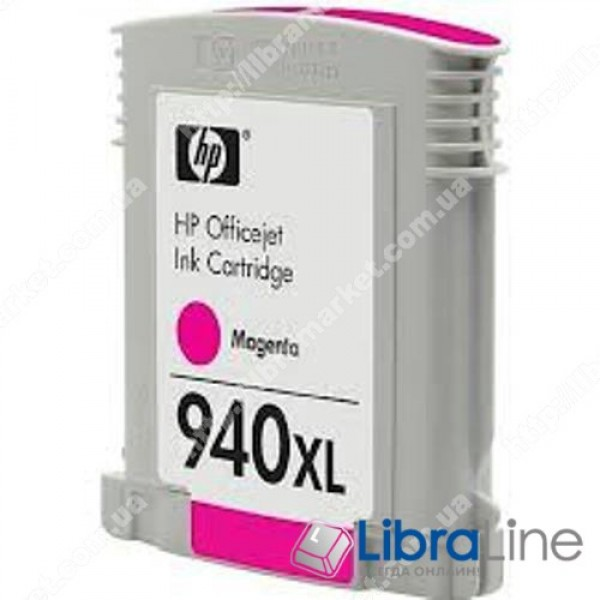 Купить C4908AE, HP 940XL, Струйный картридж  HP увеличенной емкости, Пурпурный