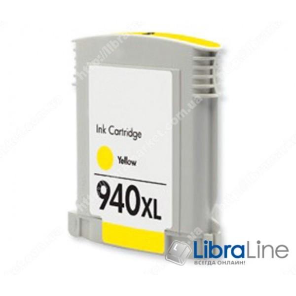 Струйный картридж  HP увеличенной емкости, Желтый C4909AE, HP 940XL