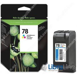 Струйный картридж   HP увеличенной емкости, Трехцветный C6578A, HP 78XL