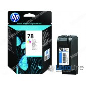 C6578D, HP 78, Струйный картридж  HP, Трехцветный