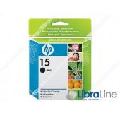 C6615DE, HP 15, Струйный картридж  HP, Большой, Черный