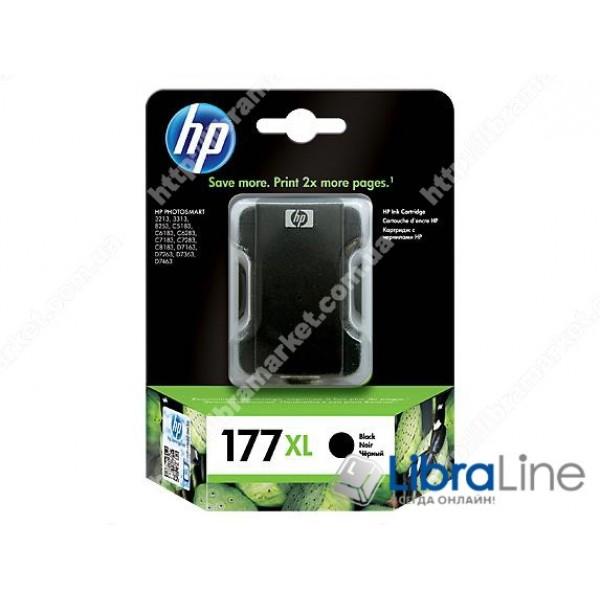 C8719HE, HP 177XL, Оригинальный струйный картридж HP увеличенной емкости, Черный