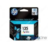 C8766HE, HP 135, Струйный картридж HP, Трехцветный