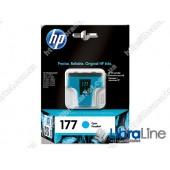C8771HE, HP 177, Струйный картридж HP, Голубой
