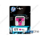 C8772HE, HP 177, Струйный картридж HP, Пурпурный