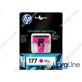 C8772HE, HP 177, Оригинальный струйный картридж HP, Пурпурный
