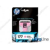 C8775HE, HP 177, Струйный картридж HP, Светло-пурпурный
