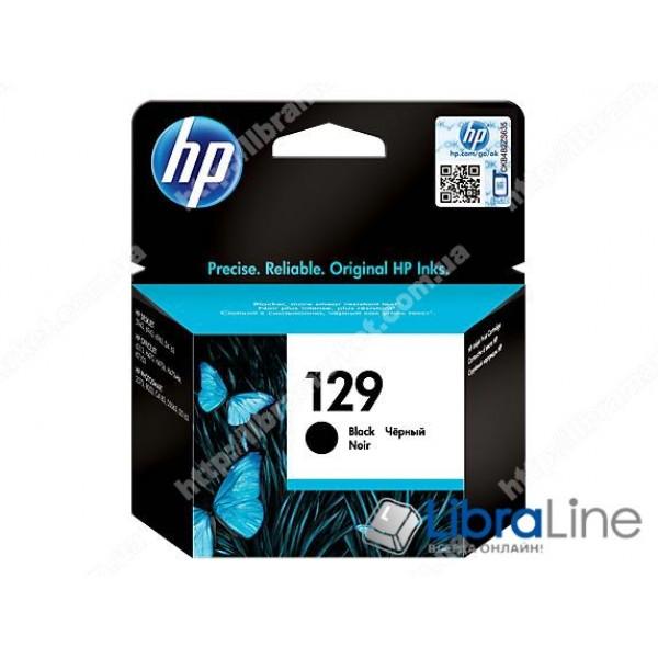 C9364HE, HP 129, Оригинальный струйный картридж HP, Черный