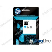 C9386AE, HP 88, Струйный картридж HP, Голубой