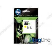 C9393AE, HP 88XL, Струйный картридж HP увеличенной емкости, Желтый