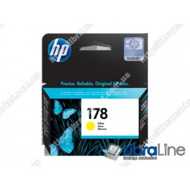 Струйный картридж HP, Желтый CB320HE, HP 178