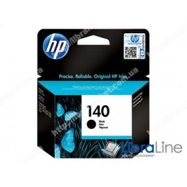 CB335HE, HP 140, Струйный картридж HP, Черный