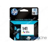 CB337HE, HP 141, Струйный картридж HP, Трехцветный