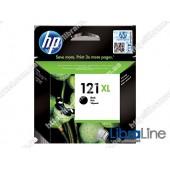 CC641HE, HP 121XL, Струйный картридж HP увеличенной емкости, Черный