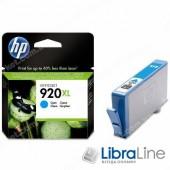 CD972AE,  HP 920XL, Струйный картридж HP увеличенной емкости, Голубой