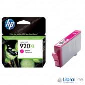 CD973AE,  HP 920XL, Струйный картридж HP увеличенной емкости, Пурпурный