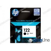 CH561HE, HP 122, Оригинальный струйный картридж HP, Черный