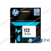 CH562HE, HP 122, Cтруйный картридж HP, Трехцветный