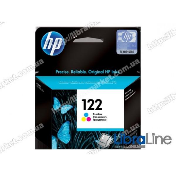 Cтруйный картридж HP, Трехцветный CH562HE, HP 122