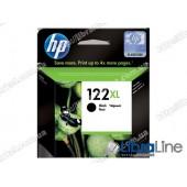 CH563HE, HP 122XL, Cтруйный картридж HP увеличенной емкости, Черный