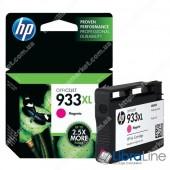CN055AE, HP 933XL, Cтруйный картридж HP увеличенной емкости, Пурпурный