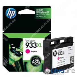 Cтруйный картридж HP увеличенной емкости, Пурпурный CN055AE, HP 933XL