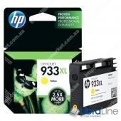 Cтруйный картридж HP увеличенной емкости, Желтый CN056AE, HP 933XL