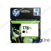 CN684HE, HP 178XL, Cтруйный картридж HP увеличенной емкости, Черный