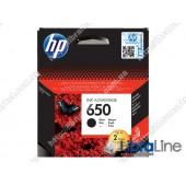 CZ101AE, HP 650, Cтруйный картридж HP Ink Advantage, Черный