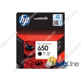 CZ101AE, HP 650, Оригинальный картридж HP Ink Advantage, Черный