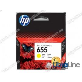 Купить CZ112AE, HP 655, Cтруйный картридж HP Ink Advantage, Желтый