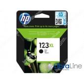 F6V19AE, HP 123XL, Cтруйный картридж увеличенной емкости, Черный