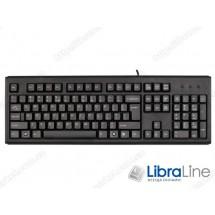 Клавиатура A4Tech KM-720 Black (USB, Rus+Ukr)