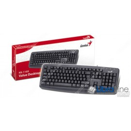 Клавиатура Genius KB-110X Black USB