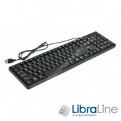 Клавиатура Maxxter KB-109-U black USB
