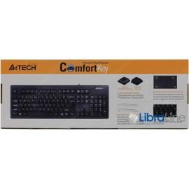Клавиатура A4-Tech KR-83 black  USB