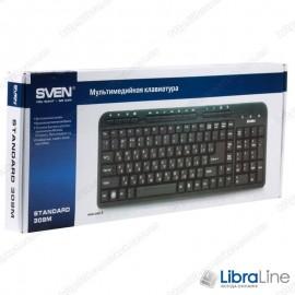 Клавиатура Sven 309M black (USB)