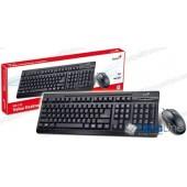 Комплект клавиатура + мышь Genius KM-125 black (USB)