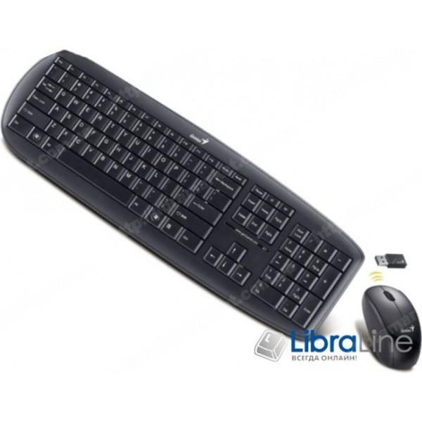 Комплект Genius KB-8000X Black WL Rus