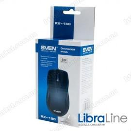 Мышь Sven RX-150 Black (USB+PS/2)