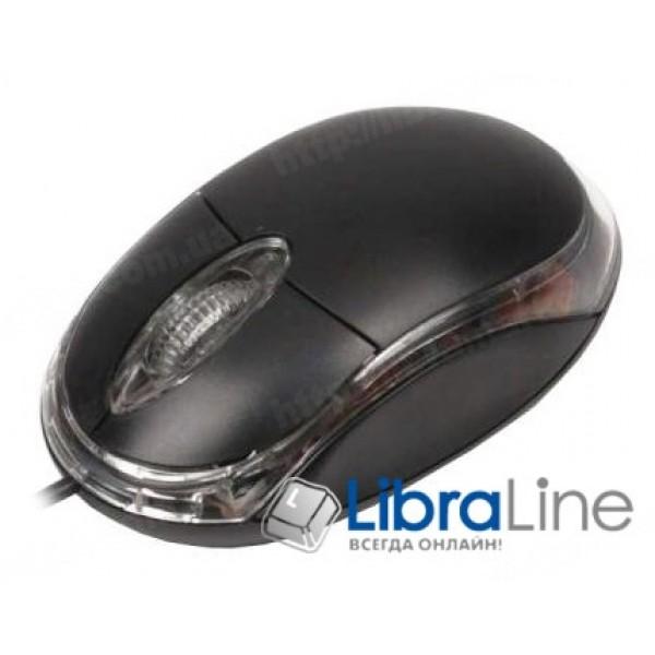 Компьютерная мышь Maxxter Mc-107 black USB