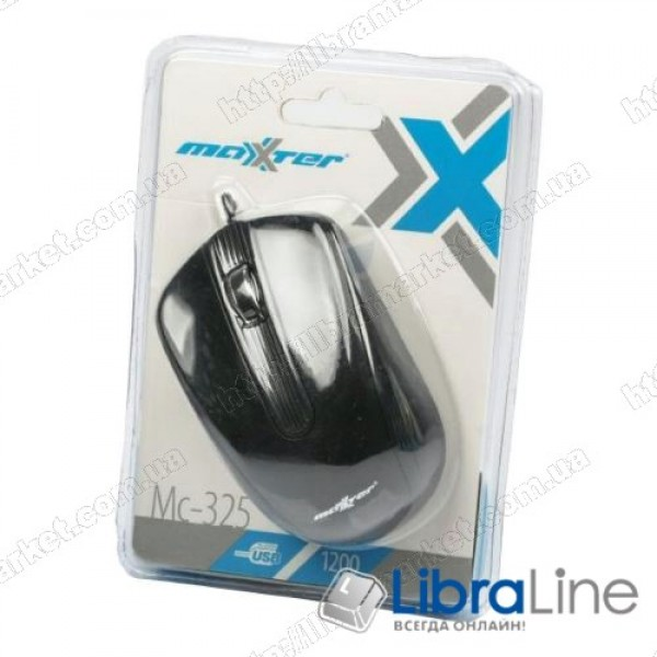 Мышь Maxxtro Mc-325 black (USB)