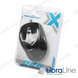 Мышь Maxxter Mc-201 black (USB)
