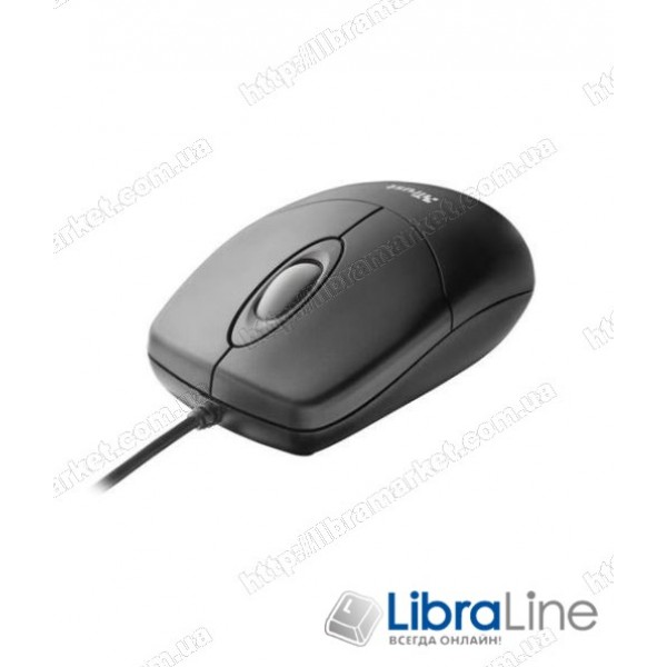 Мышь Trust Optical Mouse black (16591) (USB)