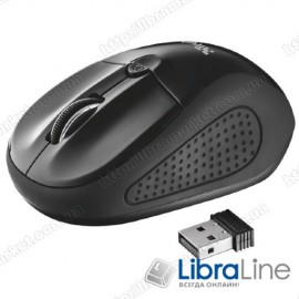 Мышь Trust Primo black (USB,wireless)
